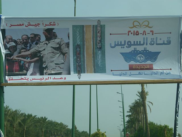 Suez Kanal Eröffnung Ägypten Hurghada